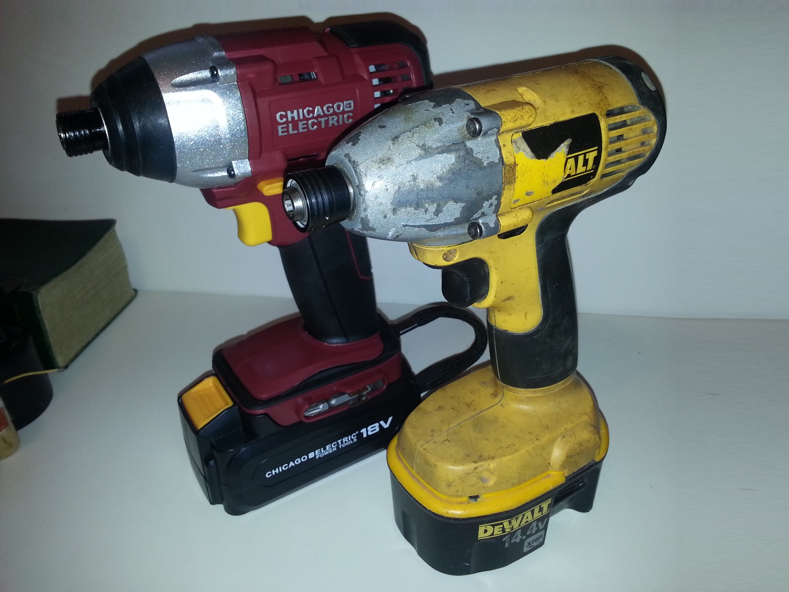 Harbor Freight 18v  25in Impact Driver - coderazor